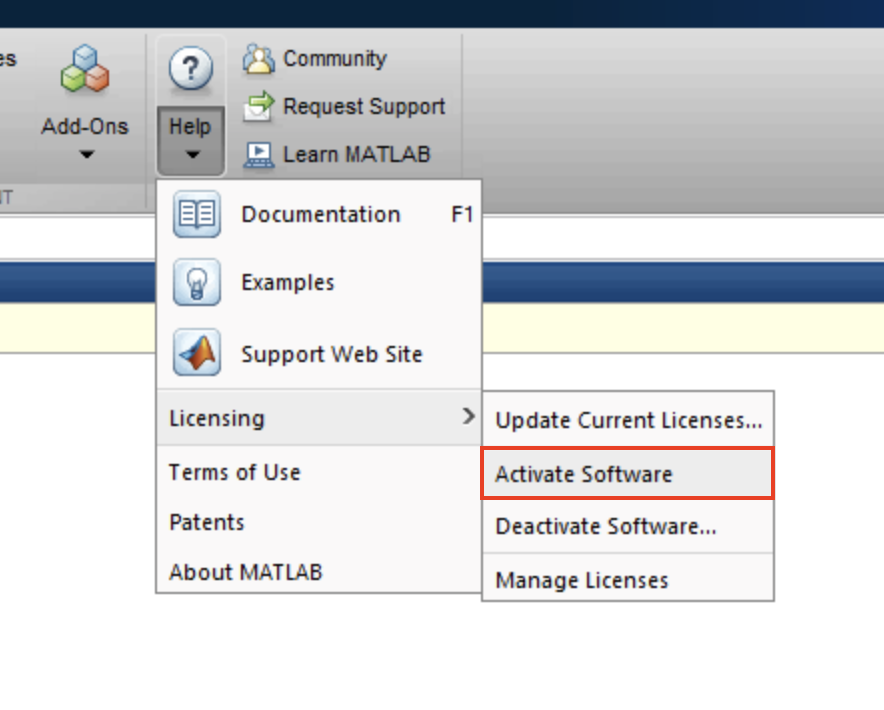 MathWorks - Office of Software Licensing - The University