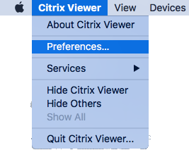Citrix Viewer