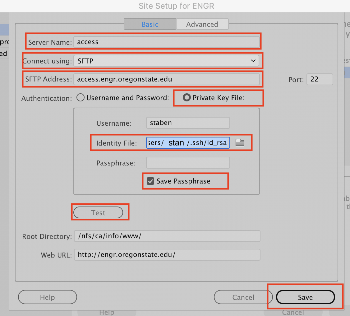 Generating SSH Keys for SFTP/SSH (FileZilla, Cyberduck