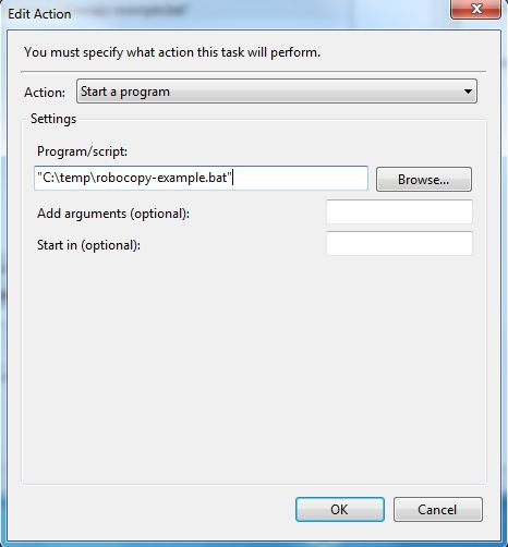 Guide for using Robocopy | Information Technology and
