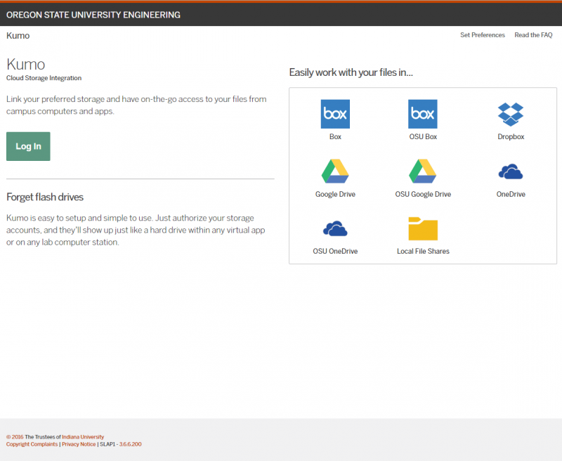 Step 1  sc 1 st  Oregon State University & Kumo - cloud storage access in computing labs | Information ...